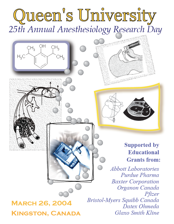 Queen's University 25th Annual Anesthesiology Research Day